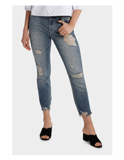 Grab - Jean with Ripped details