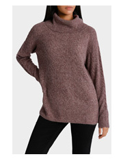 Piper Petites - Roll All Over Cable Sweater