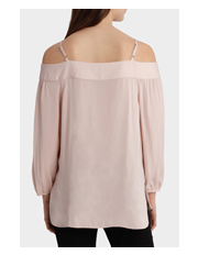 Piper Petites - Bruised Polyester Top
