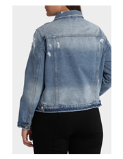 Mink Denim - Jacket Ripped