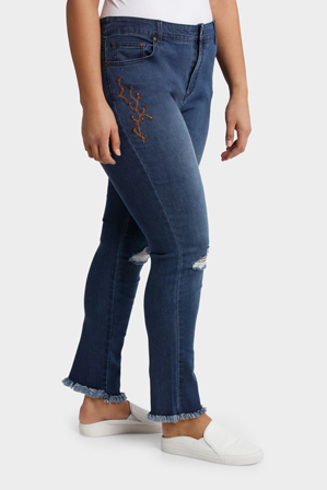 Mink Denim - Jean Beaded