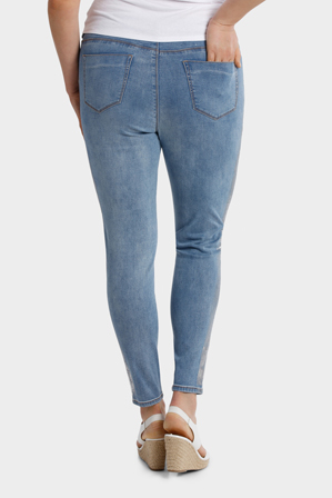 Mink Denim - Jean Foil Print on side