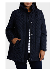 Regatta Woman - Longline Quilted Long Sleeve Jacket