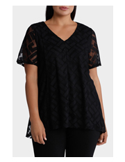 Regatta Woman - Mesh Double Layer Short Sleeve Top