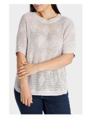 Regatta Woman - Open Knit 3/4 Sleeve Jumper
