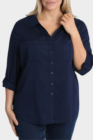 Regatta Woman - Cotton Basic 3/4 Sleeve Shirt