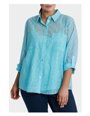 Regatta Woman - Essential Solid Burnout 3/4 Sleeve Shirt
