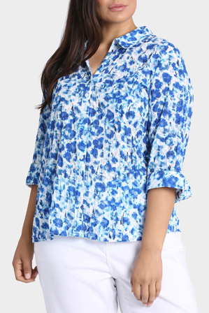 Regatta Woman - Floral Burnout 3/4 Sleeve Shirt