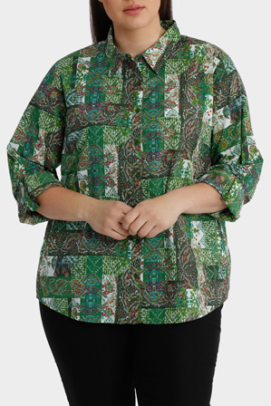 Regatta Woman - Printed Cotton 3/4 Sleeve Shirt