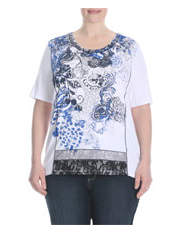 Regatta Woman - Cool Blue Cutabout Tee