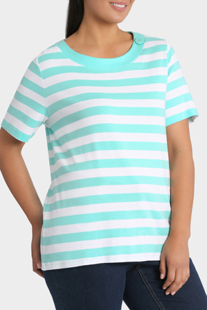 Regatta Woman - Essential Duo Stripe Short Sleeve Tee