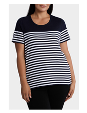 Regatta Woman - Gem Stripe Short Sleeve Tee