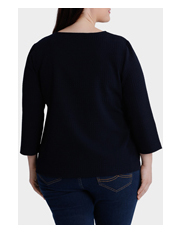 Regatta Woman - Textured 3/4 Sleeve Tee