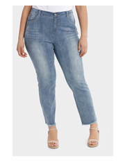 Regatta Woman - Embroidered Let Down Hem Jeans