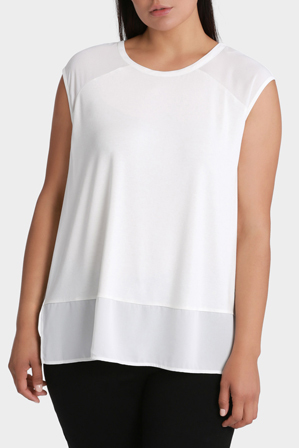Basque Woman - 2 In 1 Spliced Tee