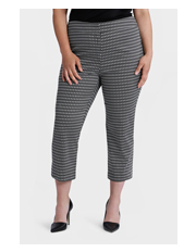 Basque Woman - Print Cotton Sateen 7/8 Pant