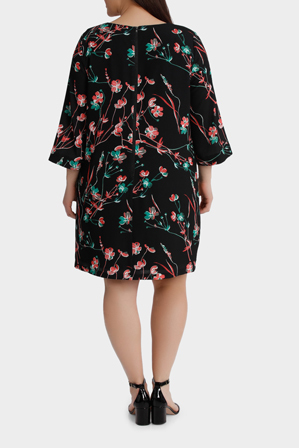 Basque Woman - Oriental Blossom Shift Dress