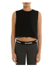 Ivy Park - Embossed Logo Cropped Tank