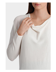 Jane Lamerton - Cowl Neck Long Sleeve Jumper
