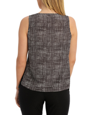 Jane Lamerton - Tank Top With Eyelet Detail