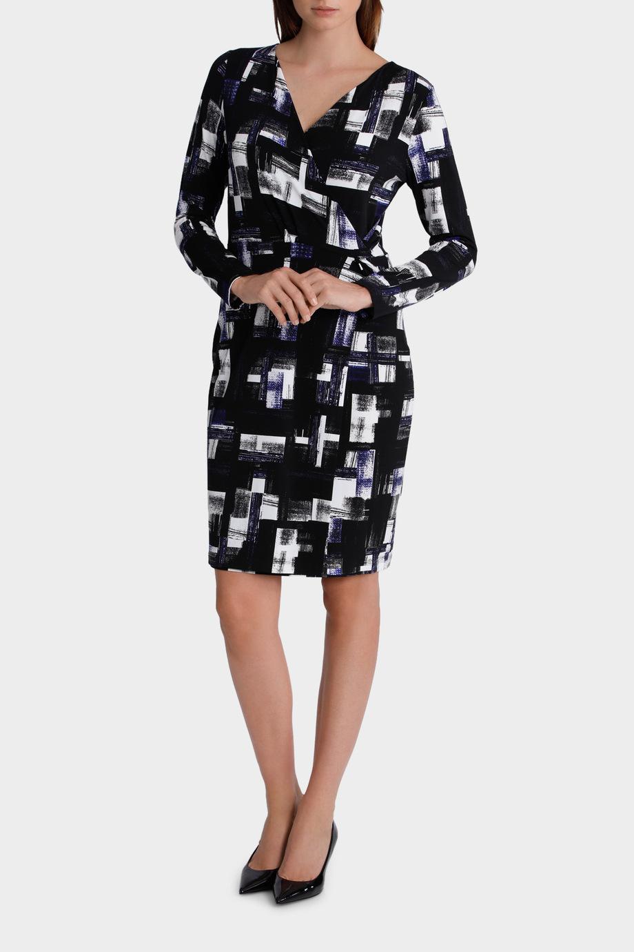 lamerton check print jersey dress myer