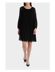 Jane Lamerton - Pleated Black Dress