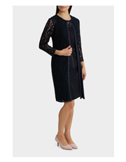 Trent Nathan Events - Yoke Lace Dress with Co-ordinating Jacket