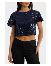 Wayne Cooper Events - Midnight Beaded Top