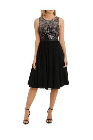 Wayne Cooper Events - Gradient Sequin Dress