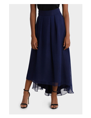 Wayne Cooper Events - Midnight Maxi Hi Low Skirt