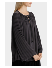 Piper Petites - Top Tunic Soft with Tie Neck