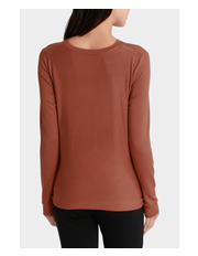 Piper Petites - Crew Neck Tee with Tie Front