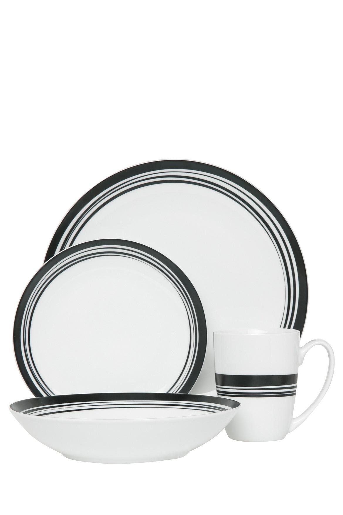sc 1 st  Myer & Vue | Nomad Porcelain 16 Piece Dinner Set | Myer Online