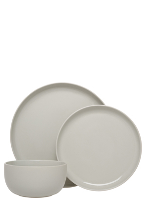 Make your house feel like home with stylish lifestyle pieces from VUE. 12 piece set. Smooth finish. Great for formal and casual dining. Stoneware.  sc 1 st  Myer & Vue | Nest Stoneware High Coupe 12 Piece Dinner Set - Grey | Myer Online