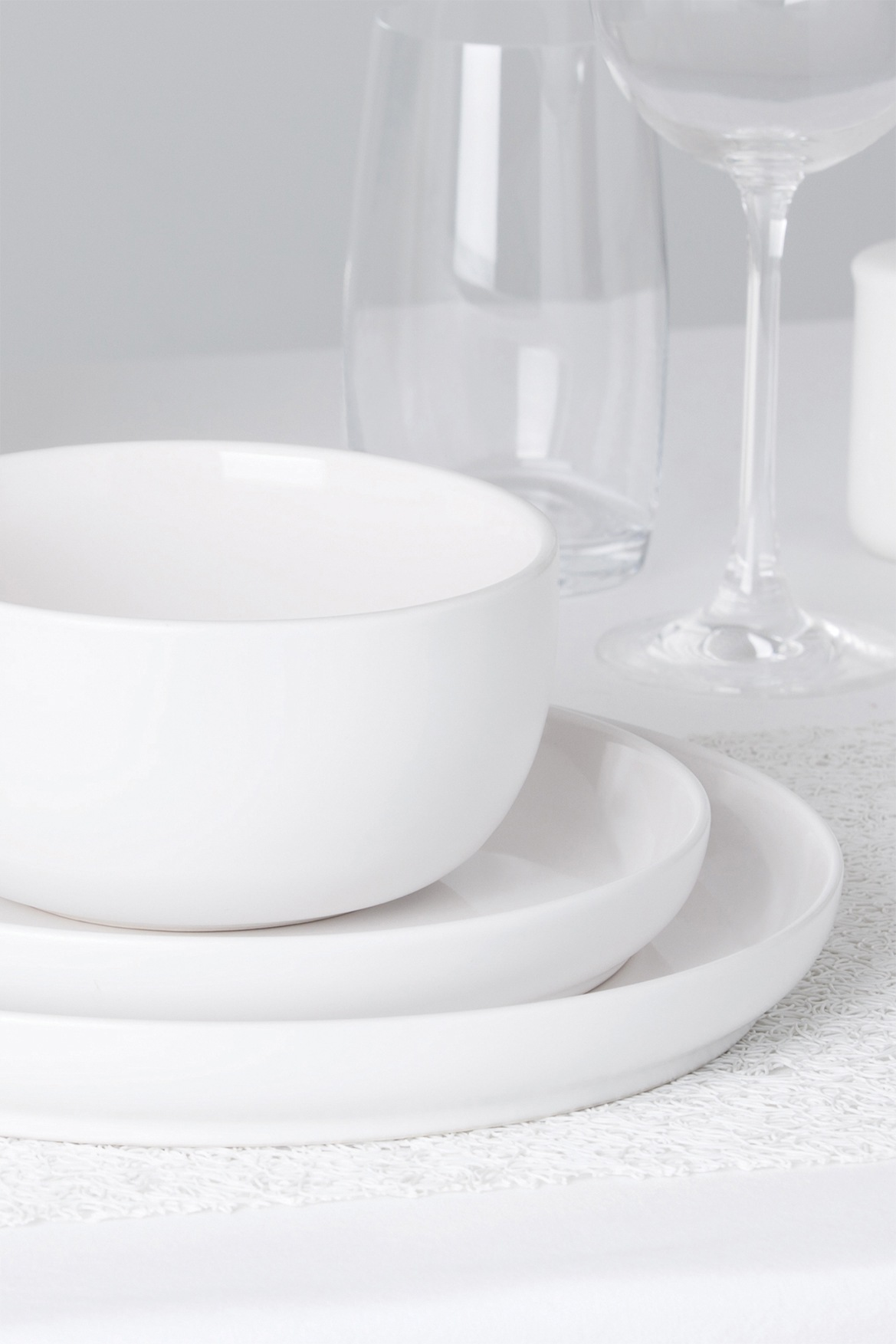 Myer Online - CategoryName. « » «» & Vue | Nest Stoneware High Coupe Dinner Plate 26cm - White | Myer Online