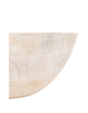 Australian House & Garden - Peninsula Whitewash Mango Wood Bowl