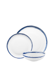 Ecology - High Tide 12 Piece Dinner Set, Gift Boxed