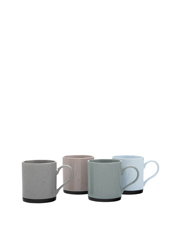 Maxwell & Williams - Speckle Mug Set Of 4 (350ML) - Gift Boxed
