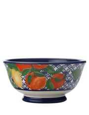 Positano Footed Bowl 16cm Citrone