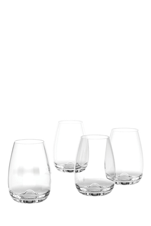 Salt&Pepper - Polo Stemless Wine Glasses, Set of 8
