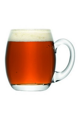 LSA - 'Bar' Beer Tankard 500ml Clear