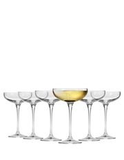 Vinoteca Champagne Cocktail Saucer 250ML Set of 6 Gift Boxed