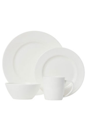 Heritage - 'Dimple' 16 Piece Dinner Set