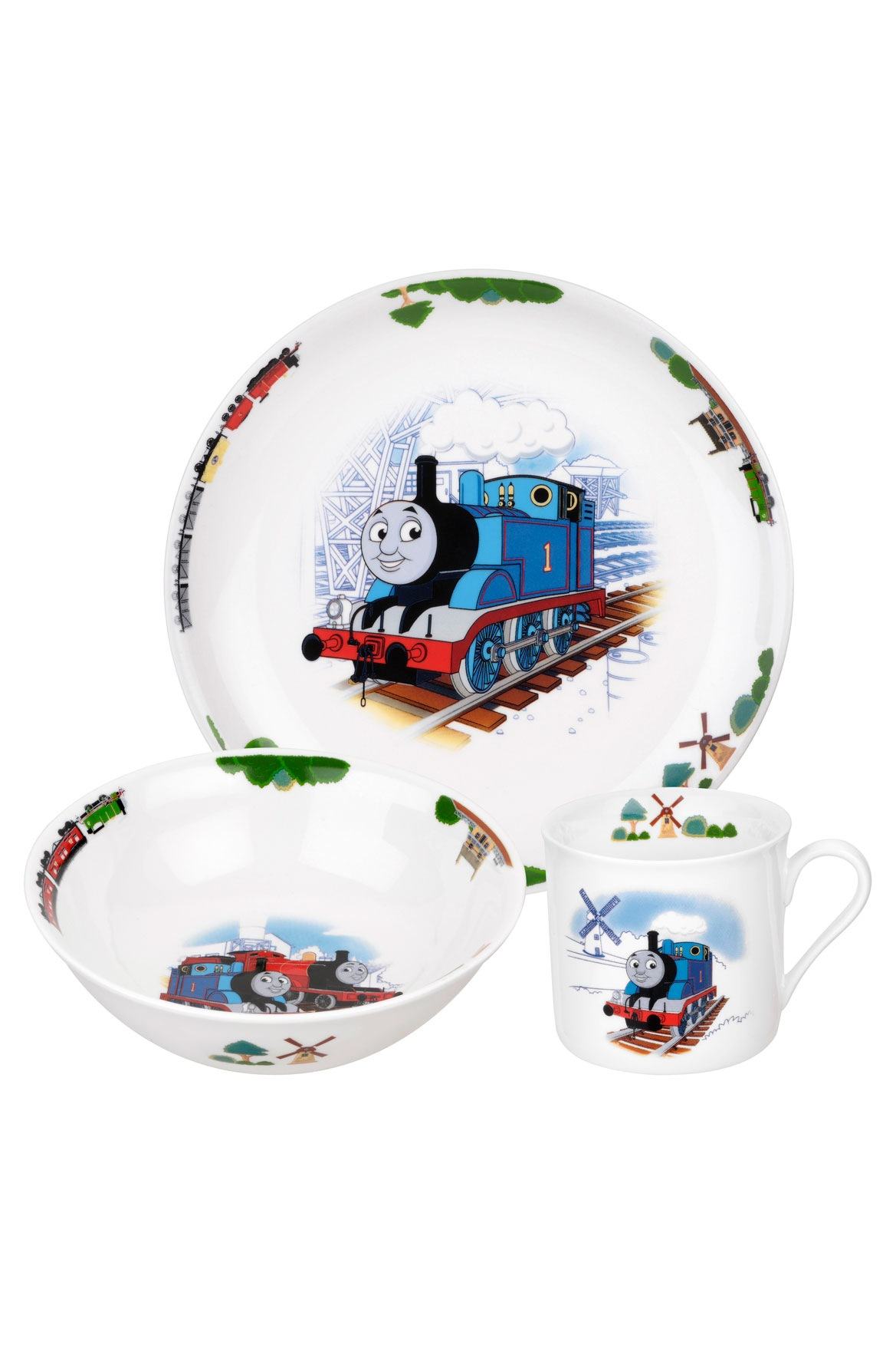 sc 1 st  Myer & Thomas The Tank   Mug Bowl u0026 Plate Set   Myer Online