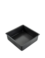 MasterPro - Non-Stick Loose Base Square Deep Cake Pan, 23x23x7cm