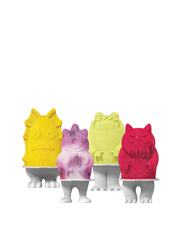 Monster Icy Pole Moulds set of 4