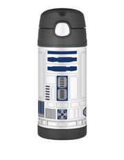 Thermos - Thermos Funtainer Star Wars Vacuum Insulated 355ml Drink Bottle - R2D2
