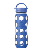 Lifefactory - Lifefactory Glass 650ml Drink Bottle - Cobalt