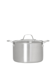 Ultima 3 Triply Stainless Steel Stockpot, 24cm/6.8L