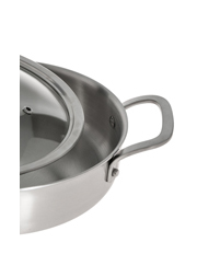 Vue - Ultima 3 Triply Stainless Steel Sautepan, 24cm/2.6L
